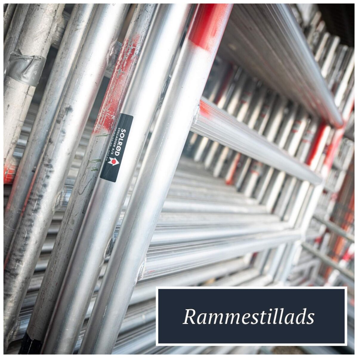 Rammer til Rullestillads til leje eller salg hos SST og Solrød Stilladser