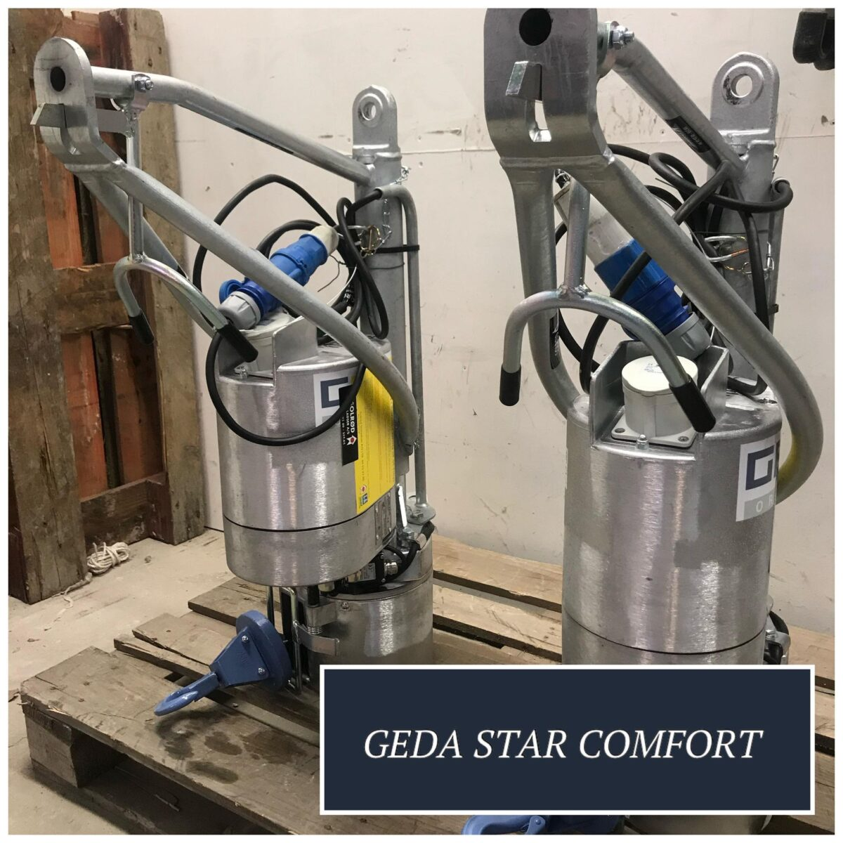 Wirehejs som materialeelevator - GEDA Star 250 Comfort