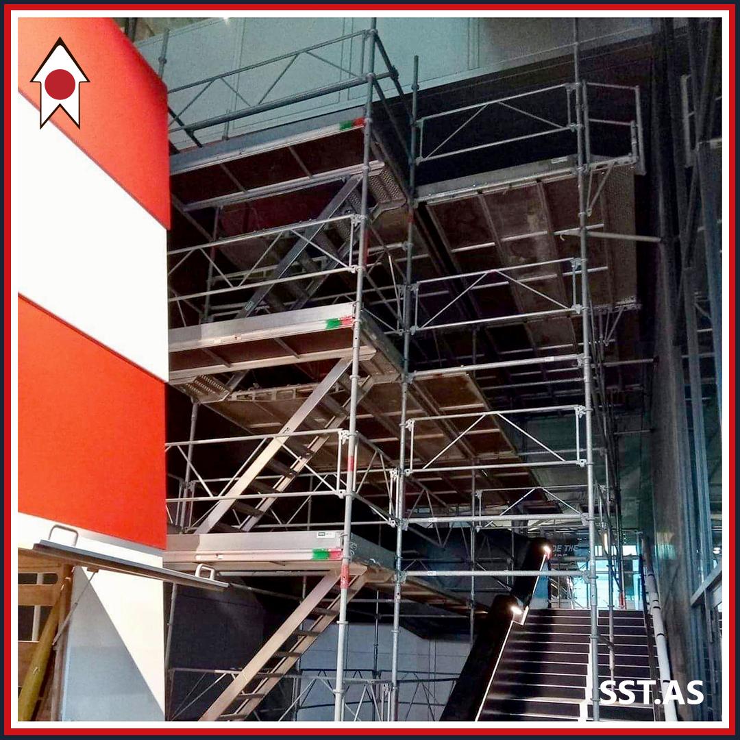 DAC stilladsopgave Trappe fra bunden udarbejdet i stillads af Solrød Stilladser