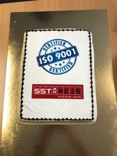 ISO 9001 certificering af SST Hejs