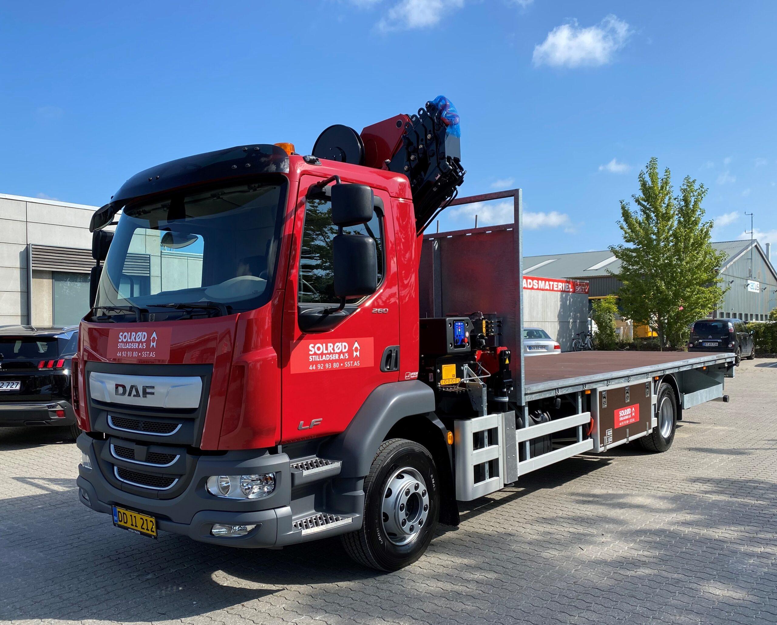 Solrød Stilladser køber ny lastbil